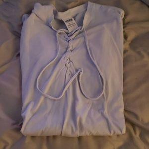 Lavender PINK hooded sweatshirt